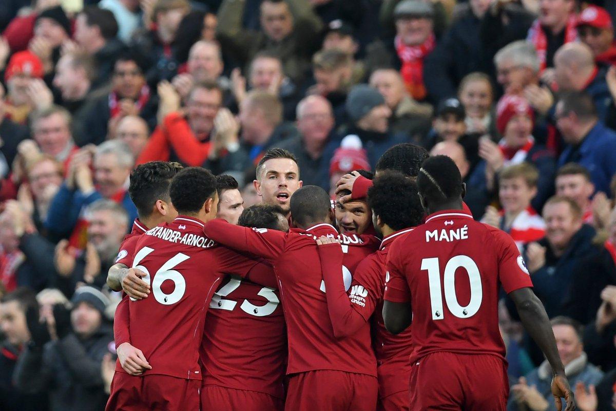 Premier league table liverpool 2nd