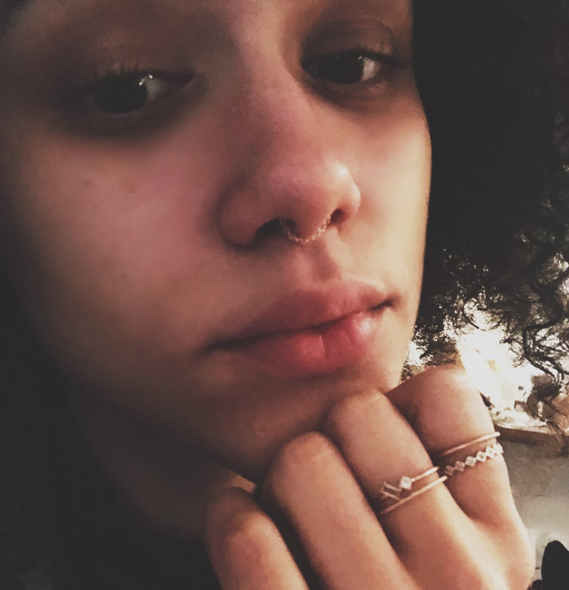 Nathalie Emmanuel On Twitter I Have This One Septum Ring By