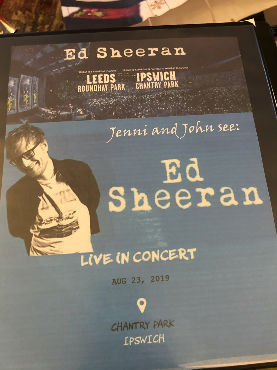 My dream would be to get a pic with Ed Sheeran. We are going to England  just to see him in concert.