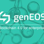 Image for the Tweet beginning: genEOS crowdsale finished. Check out
