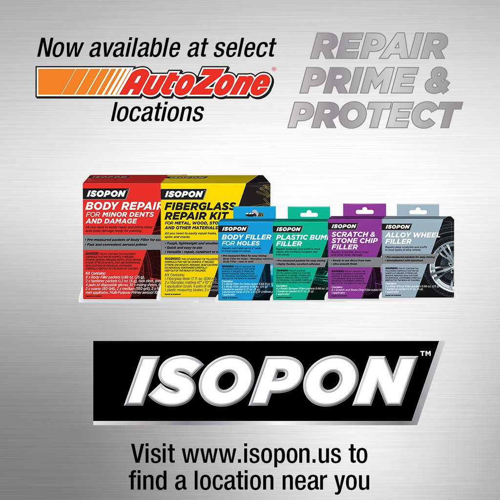 Isopon DIY Autobody Repair (@isoponusa) | Twitter
