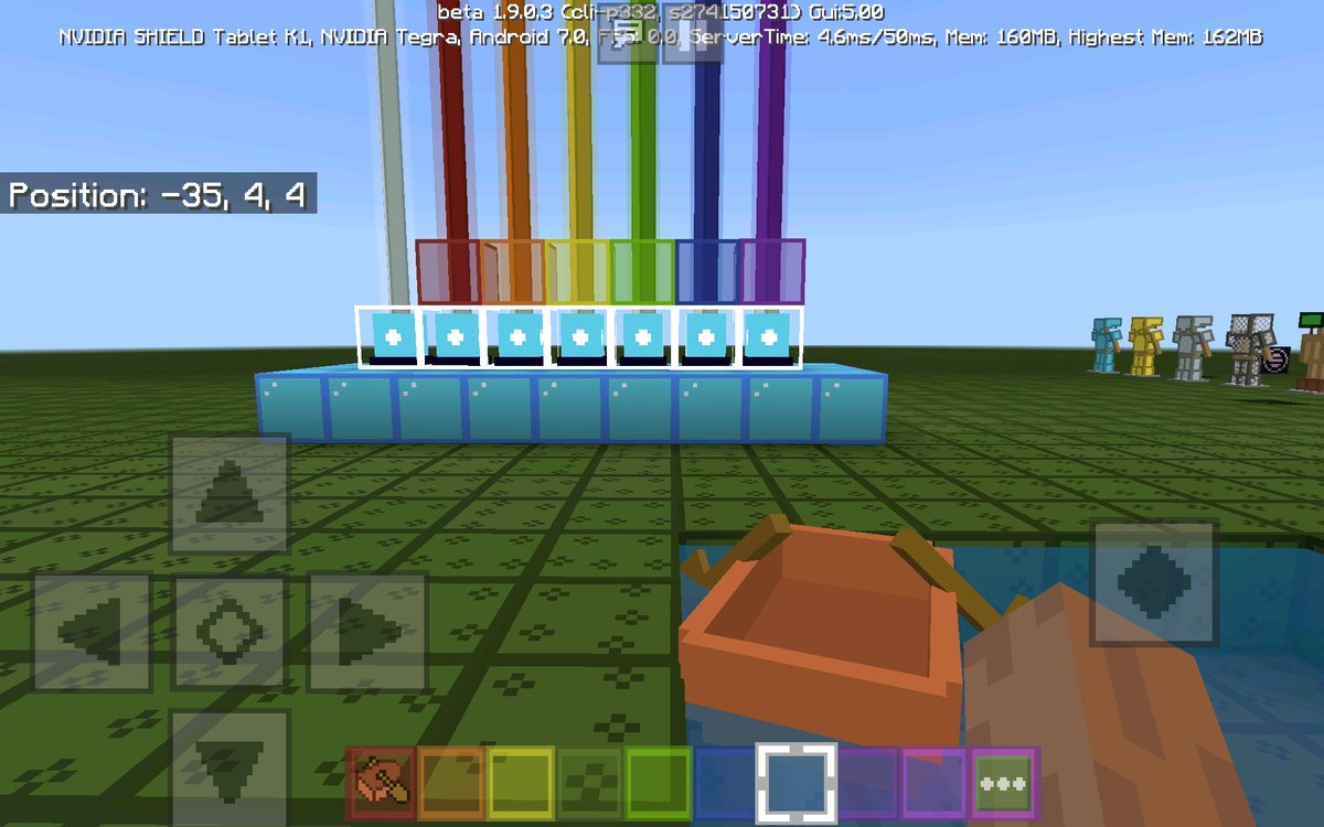 Minecraft Info 1 17 On Twitter Here S A Picture Of The Beacon Beam And Acacia Boat Textures Simpletextures Mcpe Minecraft