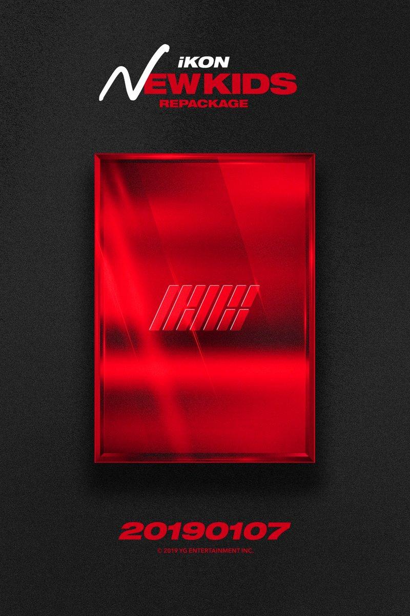 #iKON [New Kids Repackage : The New Kids]  ▶️ Online Album Release : 2019.01.07 ▶️ Offline Album Release : 2019.01.08  #아이콘 #NewKidsRepackage #TheNewKids #NewRelease #20190107 #ComingSoon #OfflineRelease #20190108 #YG