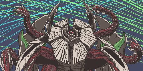 引篭り怪獣アカネチャン公式サイトの登場怪獣が更新されず、名前がわからない。 グリッドマン SSSS_GRIDMAN
