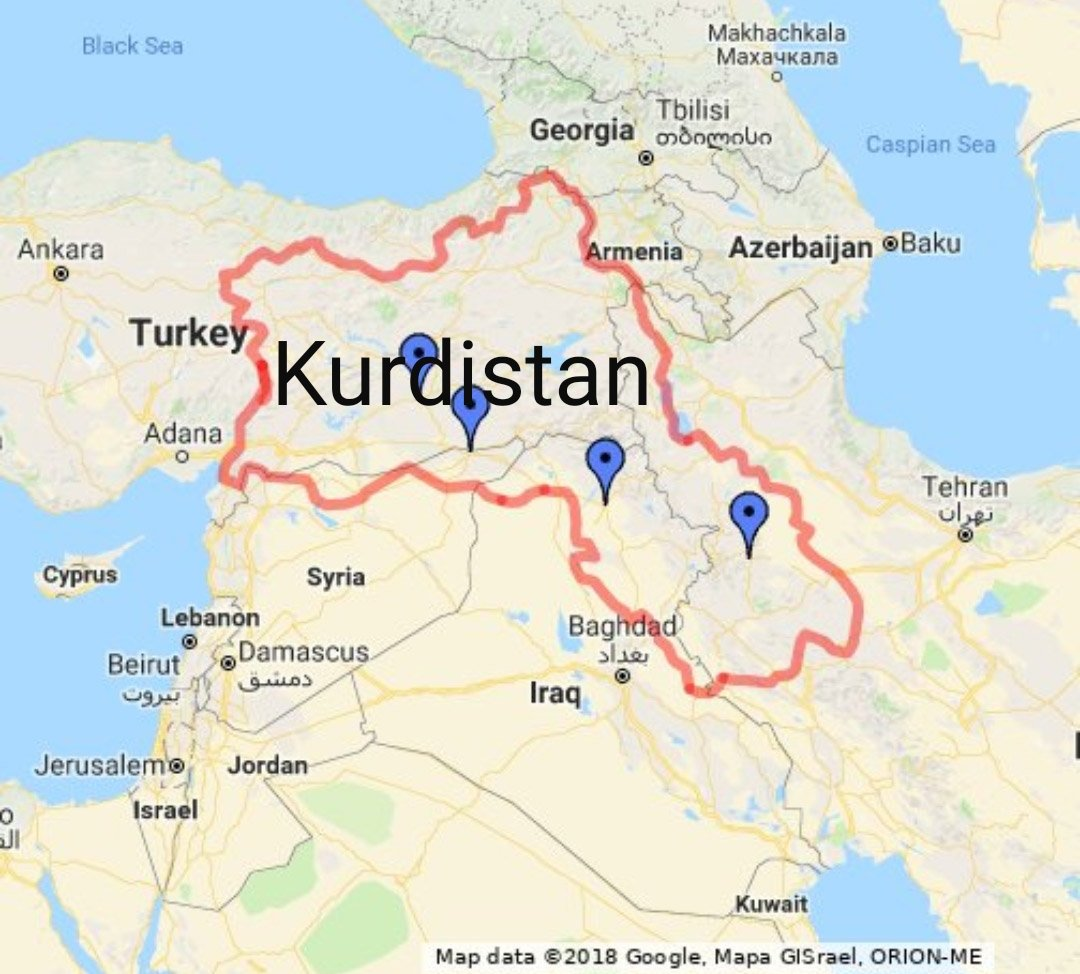 Kurdistan Karte 2018.Kurdistanmap Hashtag On Twitter