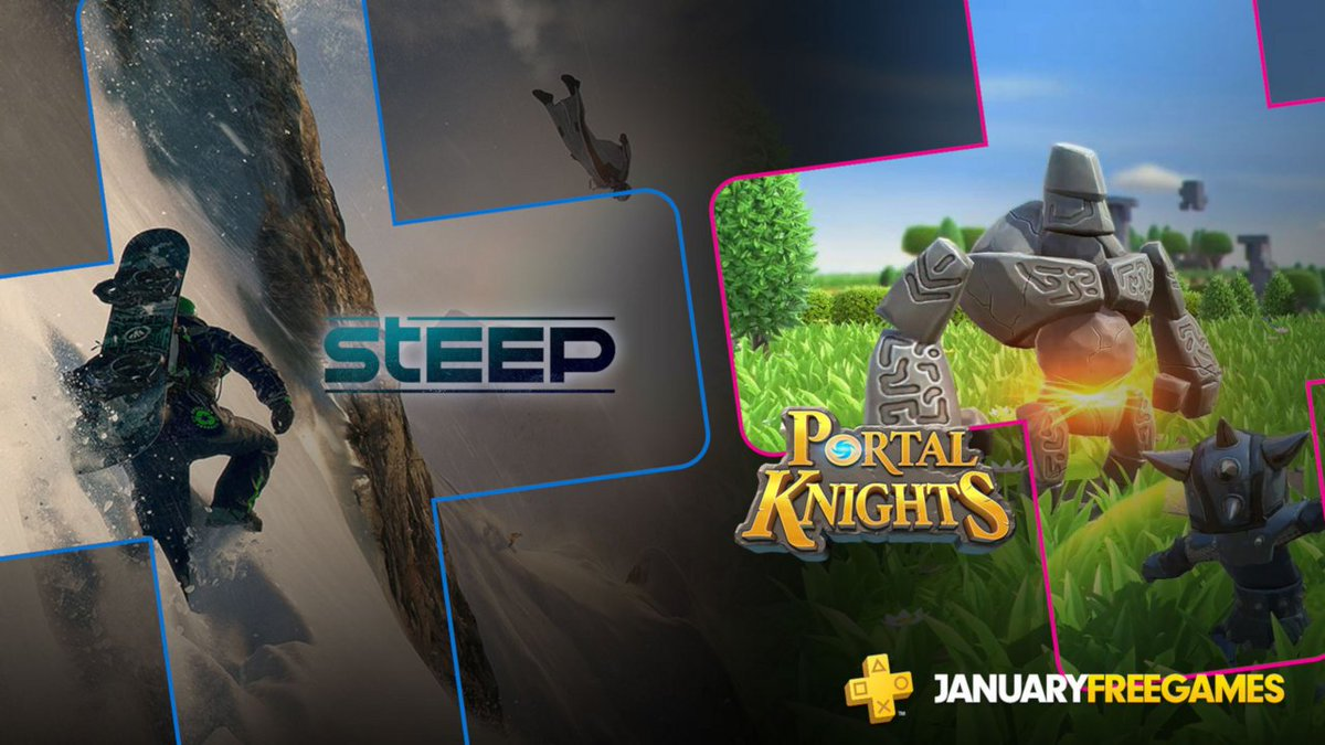 PS Plus Free Games January 2019