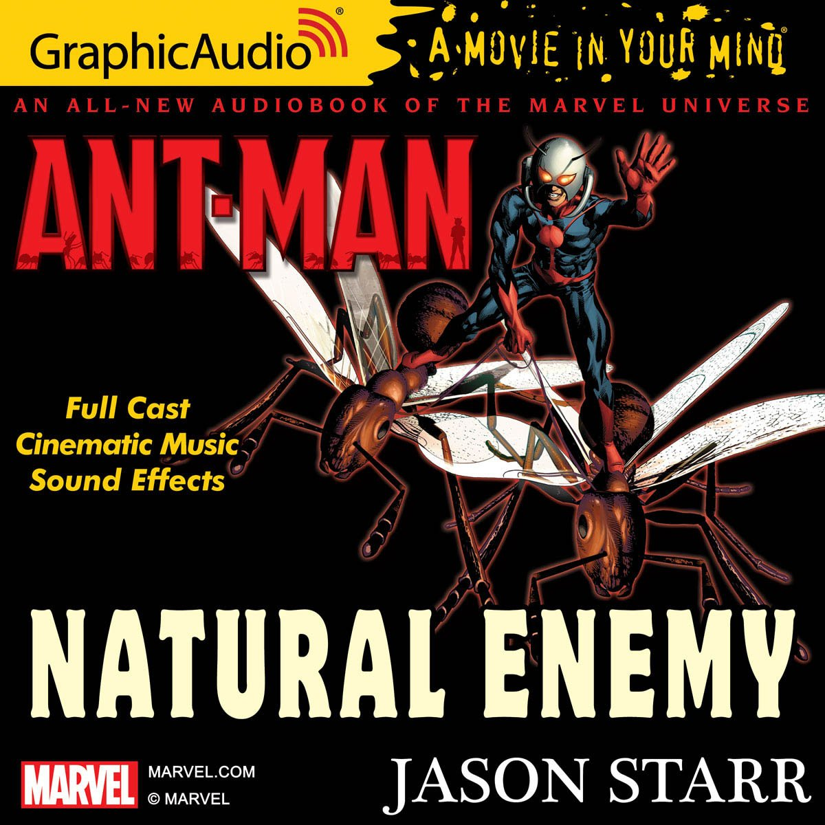 Listen to Ant-Man: Natural Enemy by @JasonStarrBooks at GraphicAudio  produced with a full cast! Save 60% off with coupon: LASTCALL ...