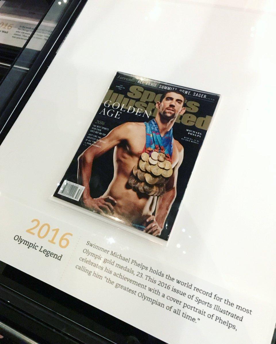 Newseum On Twitter Otd In 2016 Swimmer Michael Phelps