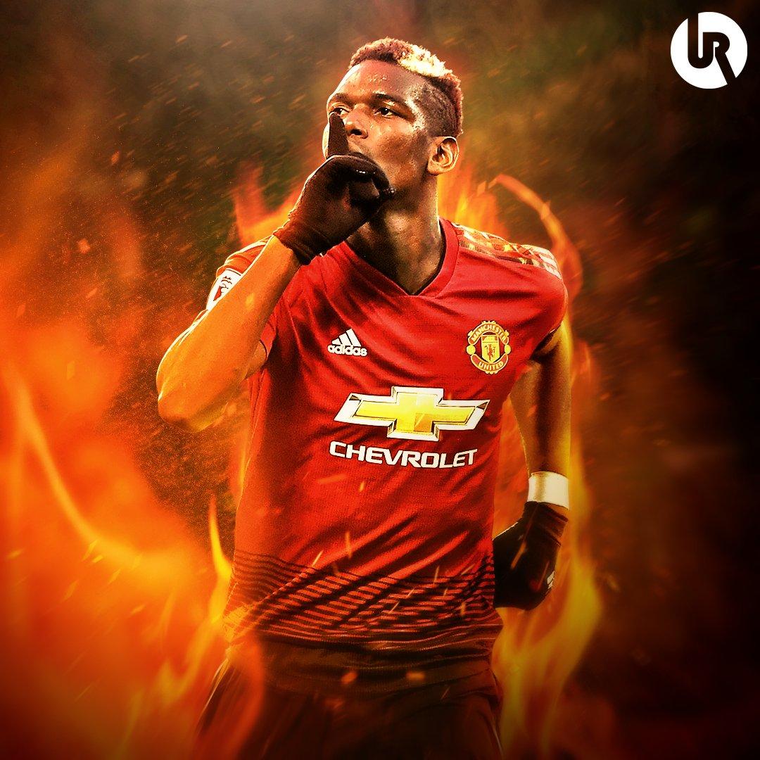 Manchester United 勝利の男神 ポグバの壁紙 かっこいい