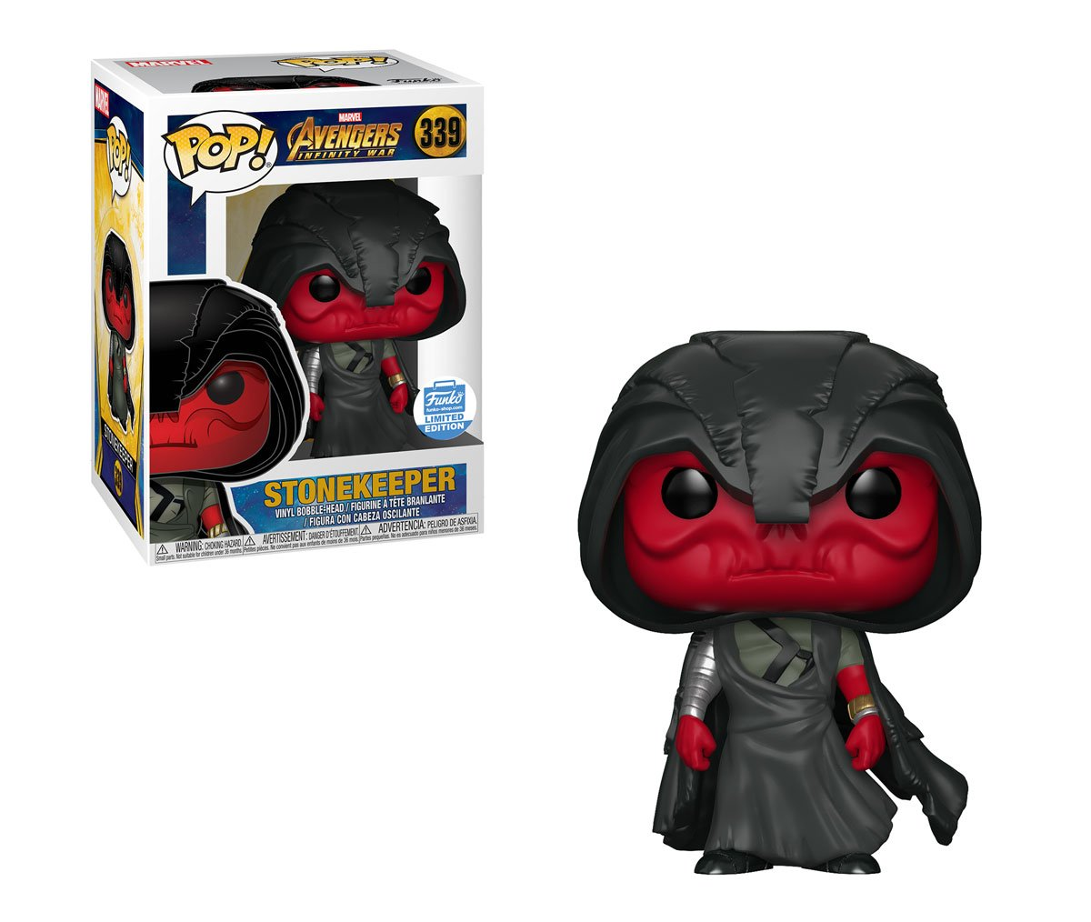 RT & follow @OriginalFunko for a chance to WIN this Funko Shop exclusive Stonekeeper Pop! #Avengers #InfinityWar