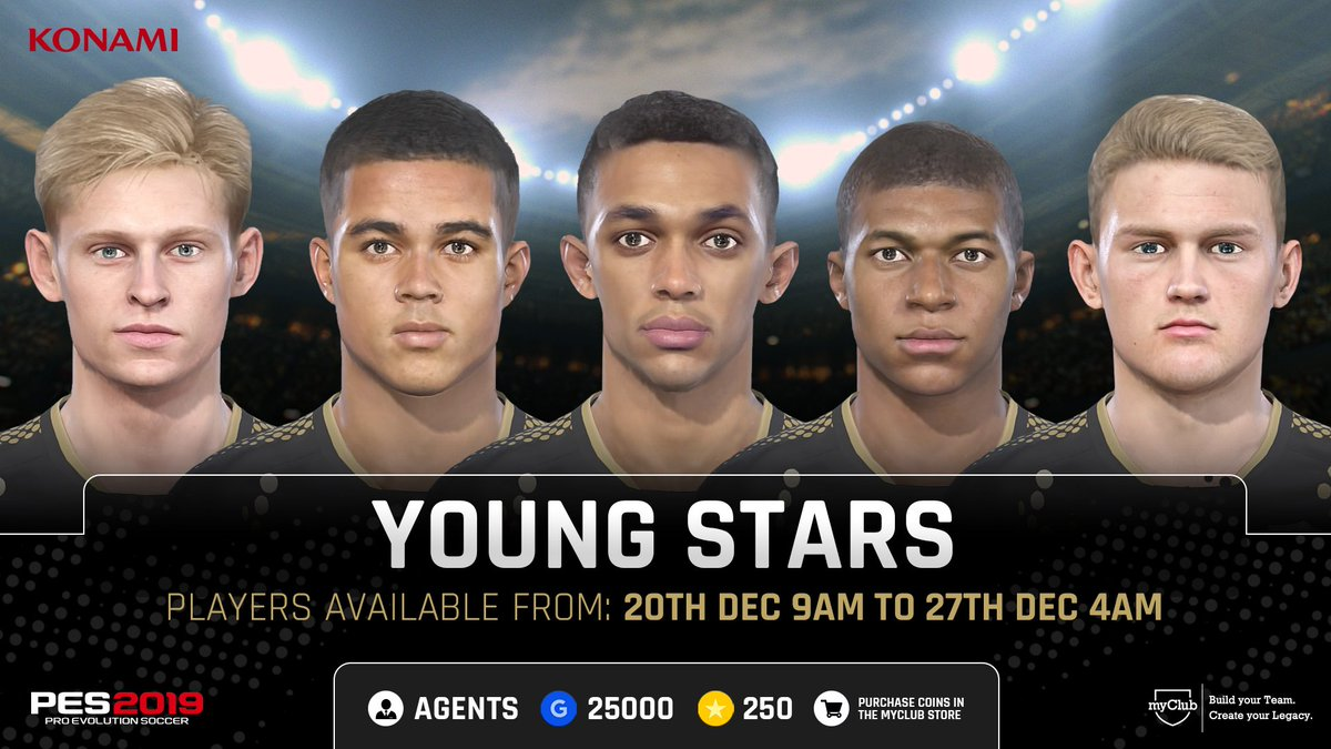 Only a few hours left to take advantage of this week's campaigns! #PES2019 #myClub