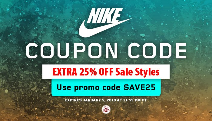 🎁 It's time to treat yourself at @nikestore by enjoying EXTRA 25% OFF savings for thousands of styles already on sale! FREE shipping with Nike+ too. #KDNKE  SHOP -> http://bit.ly/2fhICIY  (use promo code SAVE25 at checkout) 👀