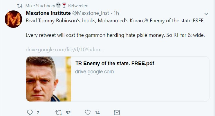 tommy robinson enemy of the state book pdf