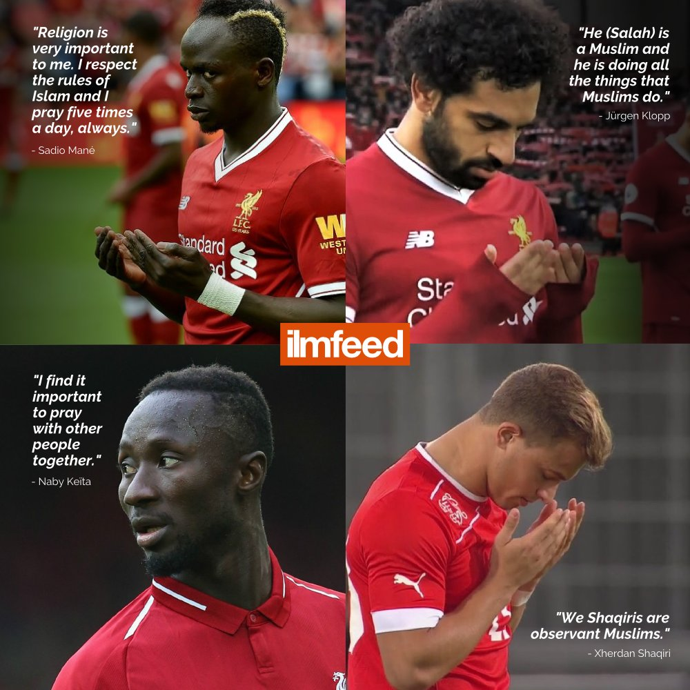 Liverpool FCs Muslim players have helped take their team to the top 🔝