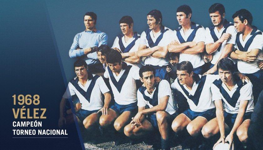 """AFA on Twitter: """"#Reconocimiento Hace exactamente 50 años, @Velez se  consagró campeón del Nacional de 1968 con Daniel Willington como emblema 🏆  https://t.co/bW35jguh9n… https://t.co/4BD8sIo5Ut"""""""