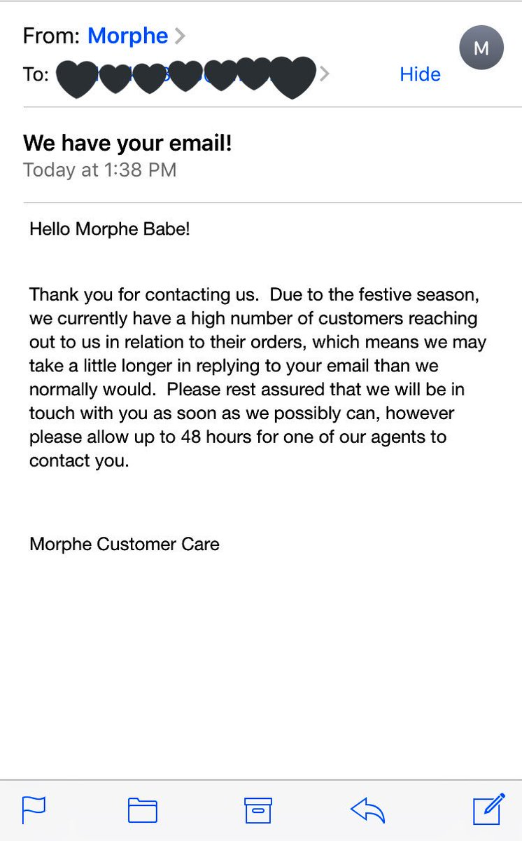 Morphe On Twitter Hi Babe We Re So Sorry To Hear About Your Experience Can You Please Email These Details Along With Your Order Number To Help Morphe Com Https T Co 8vexvucczw Morphe, llc's top competitors are bh cosmetics, sigma enterprises, llc and glamierre. morphe on twitter hi babe we re so