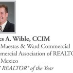 Congratulations to 2018 National Commercial Awards Honoree James A. Wible, CCIM! https://t.co/Z63AB4XLSF #CRE #GETREALTOR @ccim