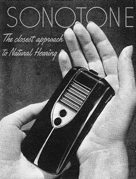 """Celso Guerrero on Twitter: """"#UnDiaComoHoy 1952: se lanza el audífono Sonotone  1010, el primer producto comercial en utilizar un transistor. Primer  producto en llevar juntos, dos tubos de vacío y un transistor."""