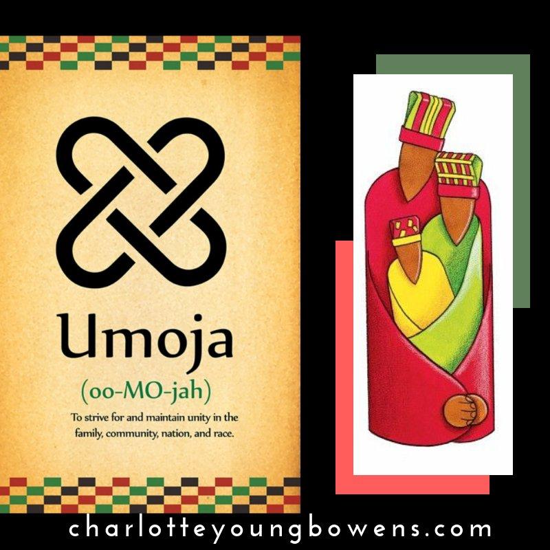 UMOJO means UNITY! #supportlocal #happykwanzaa #Kwanzaa #JoyousKwanzaa #AfricanDiaspora #MaulanaKarenga #MatundaYaKwanza #Kawaida #Umoja #Kujichagulia #Ujima #Ujamaa #Nia #Kuumba #Imani #Mkeka #Kinara #MishumaaSaba #mazao #Muhindi #KikombeChaUmoja #shukrani #Zawadi #ohsnp