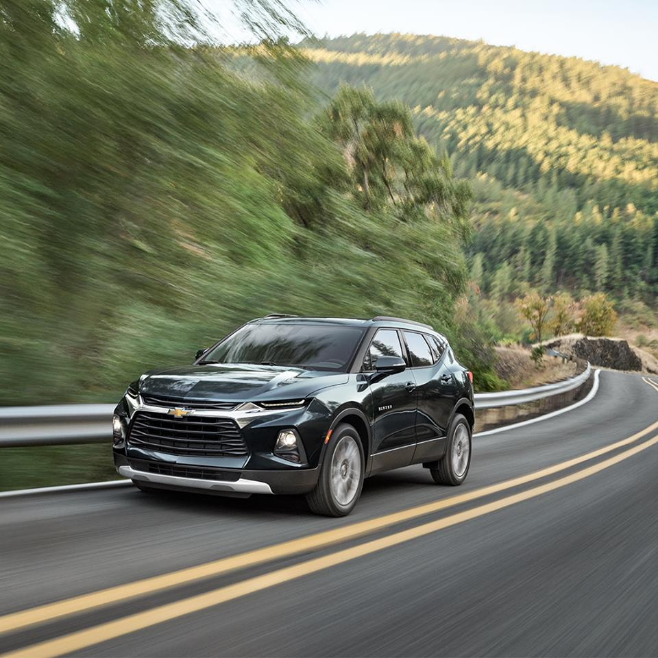 Team Chevrolet Of Swansboro On Twitter Glossy As A Magazine Cover But At Home On The Road The Signature Look For The All New 2019 Chevy Blazer