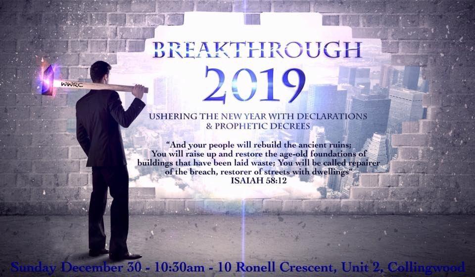 Prophetic Declarations For Breakthroughs