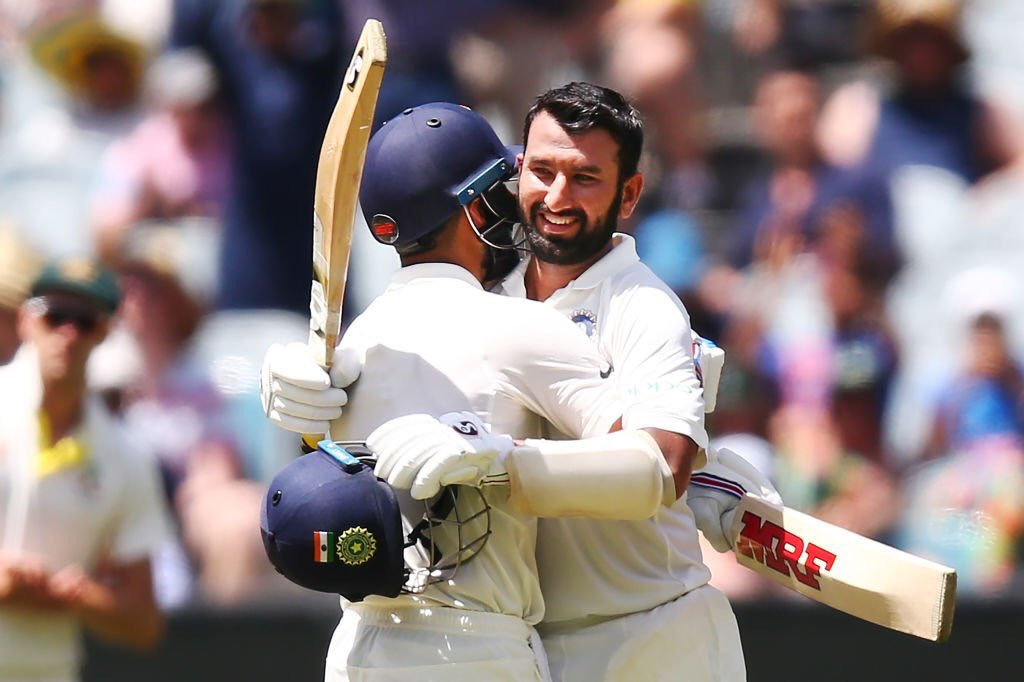 INDvAUS: भारत की पहली पारी 443/7 रन पर घोषित, दूसरे दिन के समाप्ति तक ऑस्ट्रेलिया 8/0