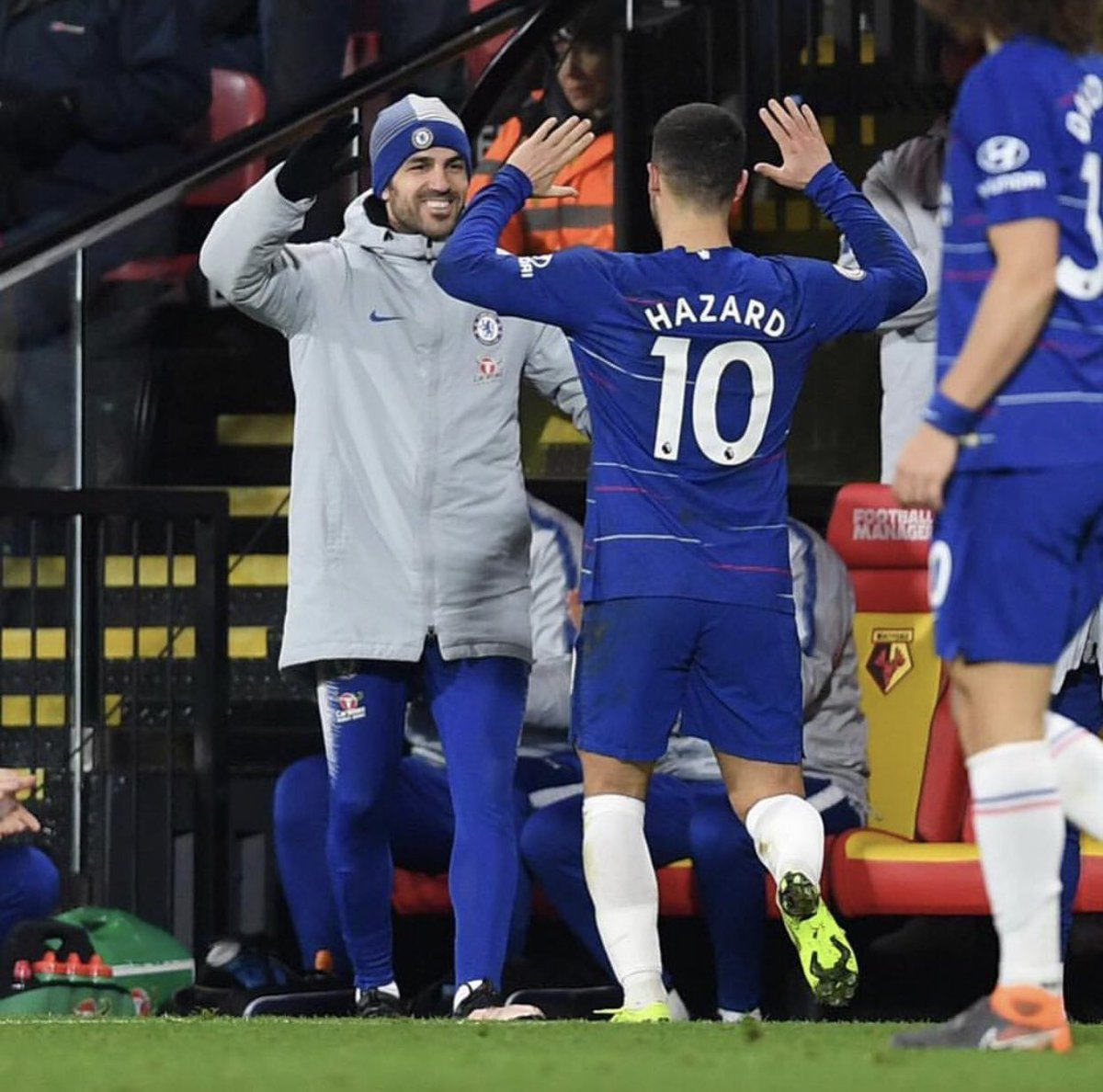Congratulations to this wonderful player @hazardeden10 for reaching 100 goals with @ChelseaFC 👏🏻