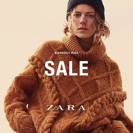 The annual ZARA After Christmas Sale is happening now through January 26th. Prices are XS; savings are XXXL throughout the store! #TheOriginalFarmersMarket #AfterChristmasSale #ZaraFashion pic.twitter.com/6SyVCkZwnM
