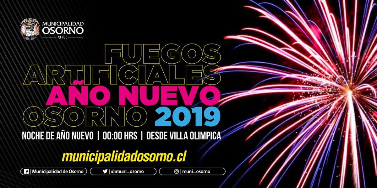 Municipalidad Osorno On Twitter Osorno Dara La Bienvenida Al Ano
