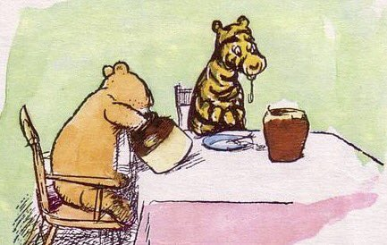 Image result for a a milne tigger