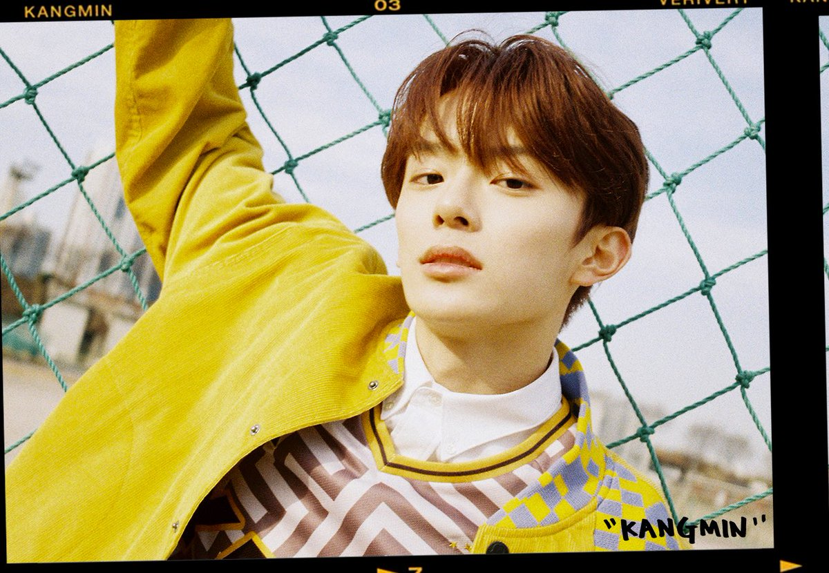 Image result for VERIVERY 1st MINI ALBUM [VERI-US] Character Teaser #강민