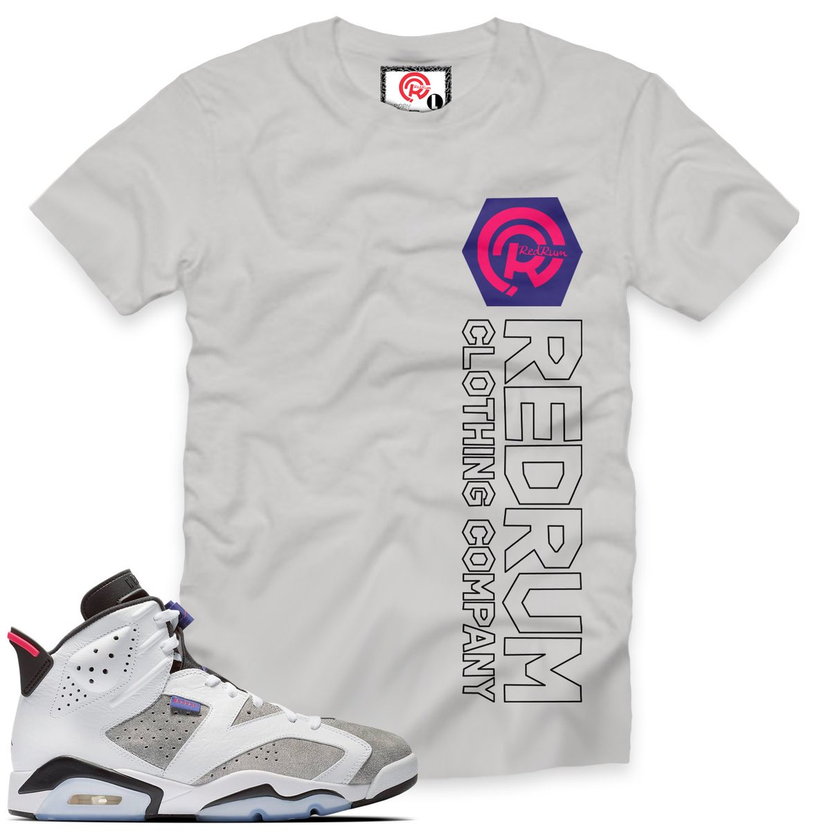 0bc2e49668bf30  RDRM Flint Grey 6 T-shirt For The  AJ6  FlintGrey  6s