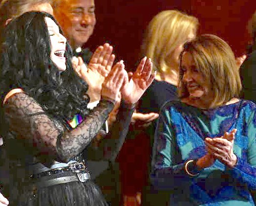 Cher And Nancy Pelosi At Kennedy Center Honors