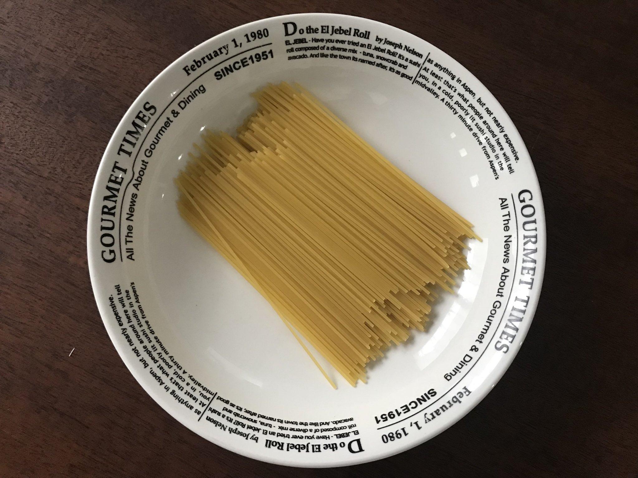 まさかの食卓に出す器でチン‼️これはもう、是非試して 【ネギとツナの鶏ガラ醤油パスタ】 耐熱性の器に、折った麺(追記参照)100g、ねぎ薄切り1/3本、ツナ1/2缶、[水260ml、顆粒鶏ガラ小さじ1、塩少々]を入れラップ無しで袋の表示時間➕3分チン。バター、醤油各小さじ1、塩胡椒で味を調える。