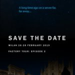 Image for the Tweet beginning: Save the date... HCL Factory