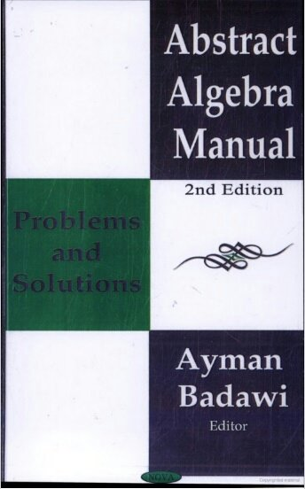 Solutions Manual Abstract Algebra Rotman