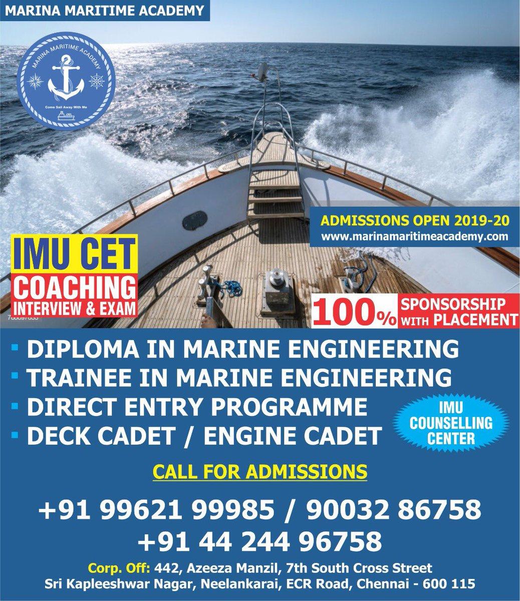 Marina Maritime Academy on Twitter: