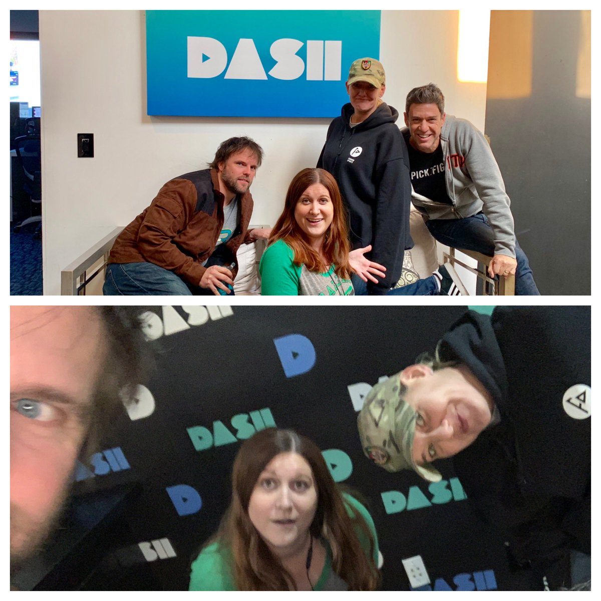 We're ON & with special guest @lacretialyon who has choice words about her @DallasStars...@jenmurphycomedy picks a spot-on #douchekazoo of the week, and @eddiepence loses it...again re: his @Redskins TUNE IN! @dash_radio https://t.co/QfgZvS6ZAs @FandomSportsApp #pickafight https://t.co/52bFkL3XhA