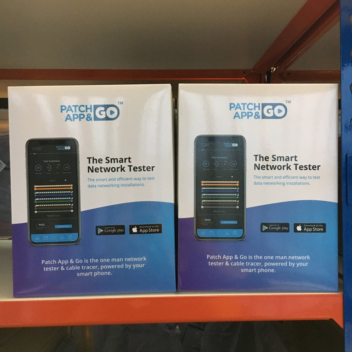 Patch Solutions Patchsolutions Twitter Cable Cat5e Cables On The Shelf New App Go Data Continuity Tester And Tracer Buy Yours Now Https Bitly 2kfte4f Patchcables