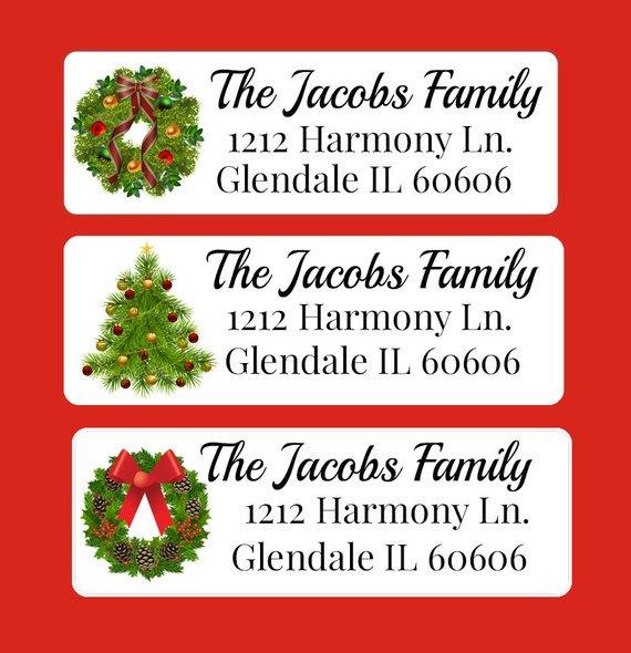 mary lou on twitter christmas address label return address label