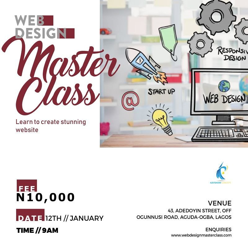 Alchemyleads Seo Company In Los Angeles On Twitter Rt Masterclass Ng It S A New Year Add A New Skill To Your Portfolio Register For Our Web Design Master Class Https T Co Lnuklam20e Kayshowconcept Masterclassacademy