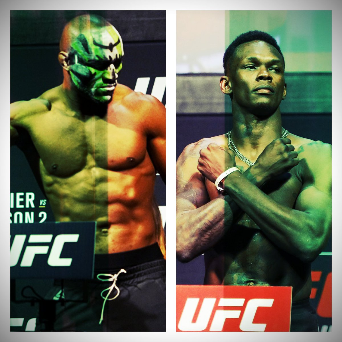 Fun fact: The UFC WILL have 2 New Nigerian Champion's by the end of this year.   #StrapSeason #AndNew 🏆🏆
