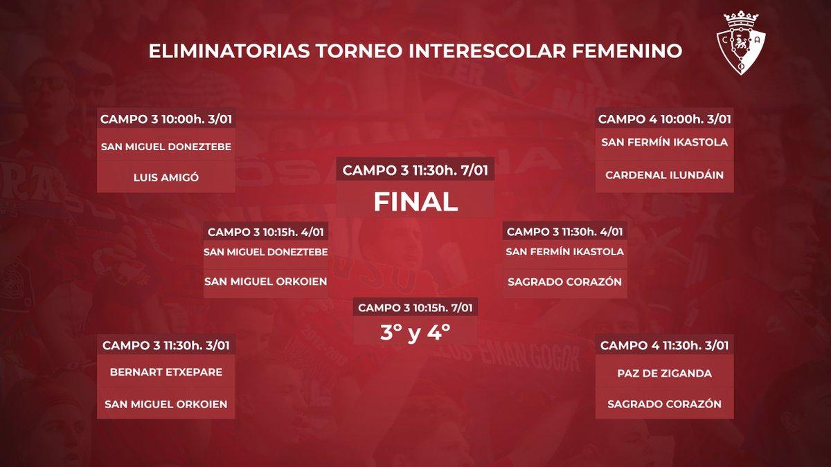 DESDE LA BANDA - FÚTBOL NAVARRO (DLB-FN) |  XXXVII Torneo Interescolar del Club Atlético Osasuna.