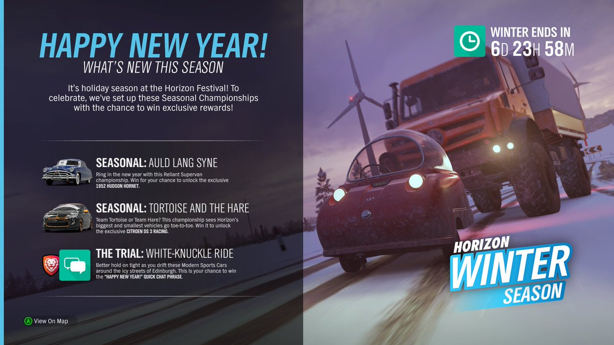 Contest and Rewards List for FH4 - Page 3 - Forza Horizon 4