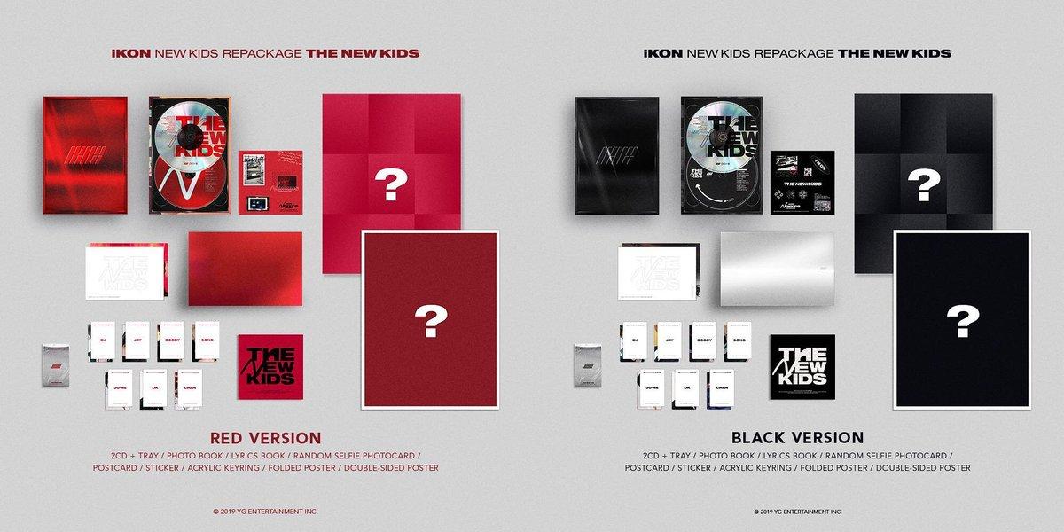 s_koreashop iKON - NEW KIDS REPACKAGE Album [THE NEW KIDS]+