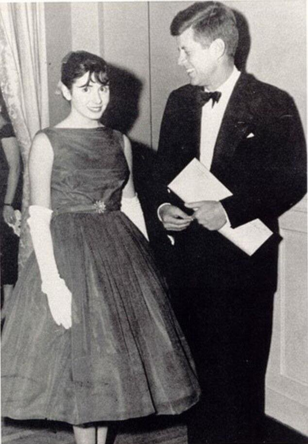 Nancy Pelosi with JFK: