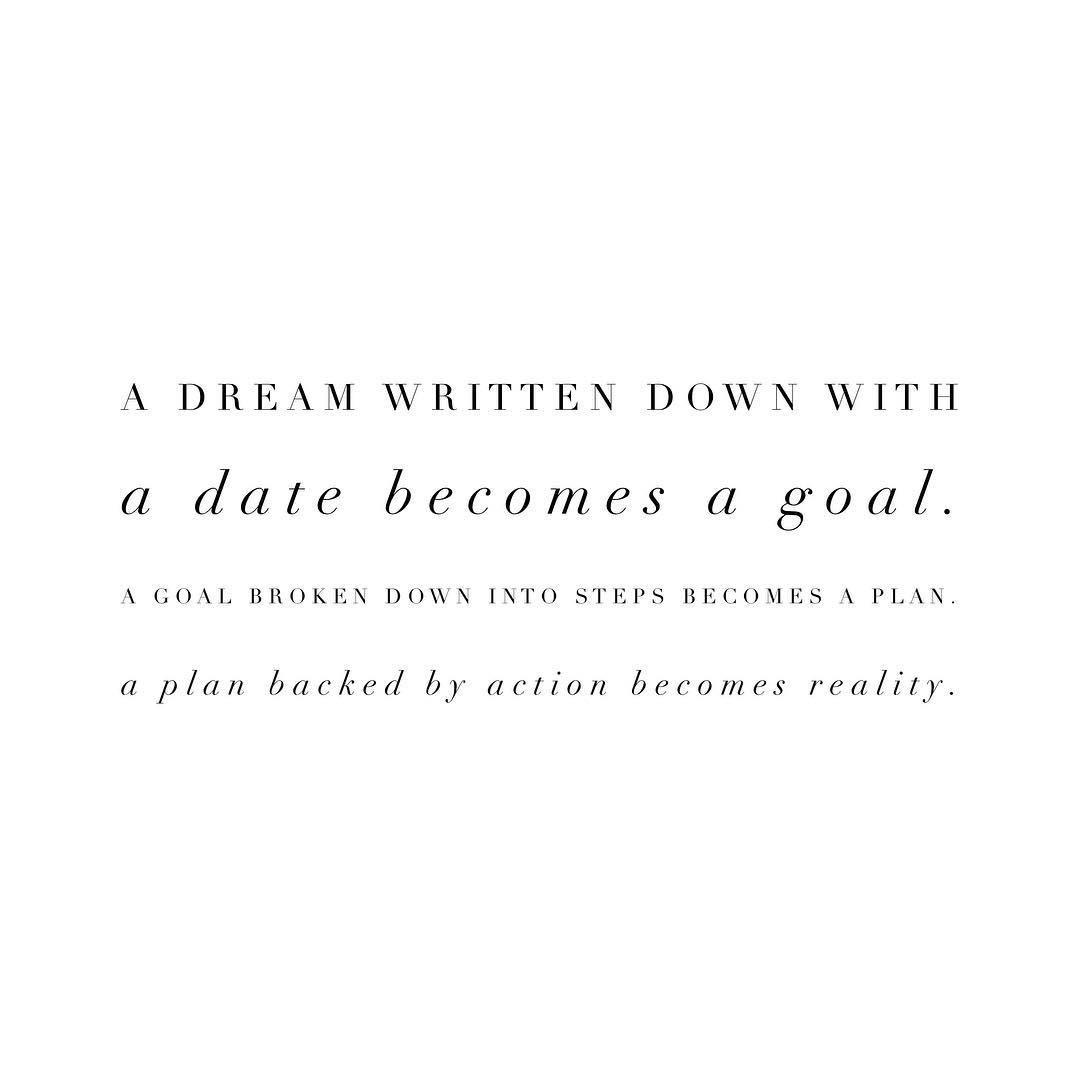 Dream + Goal + Plan + Action = REALITY !!! https://t.co/JVklCp0TOE