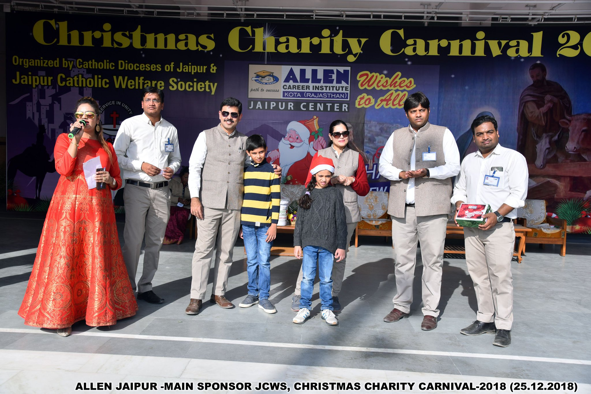 Allen Jaipur On Twitter Allen Career Institute Sponsored The Christmas Carnival Organized By Jaipur Catholic Welfare Society Jcws On 25 Dec In Which 10 000 Students With Families Of 7 Schools Had Fun In