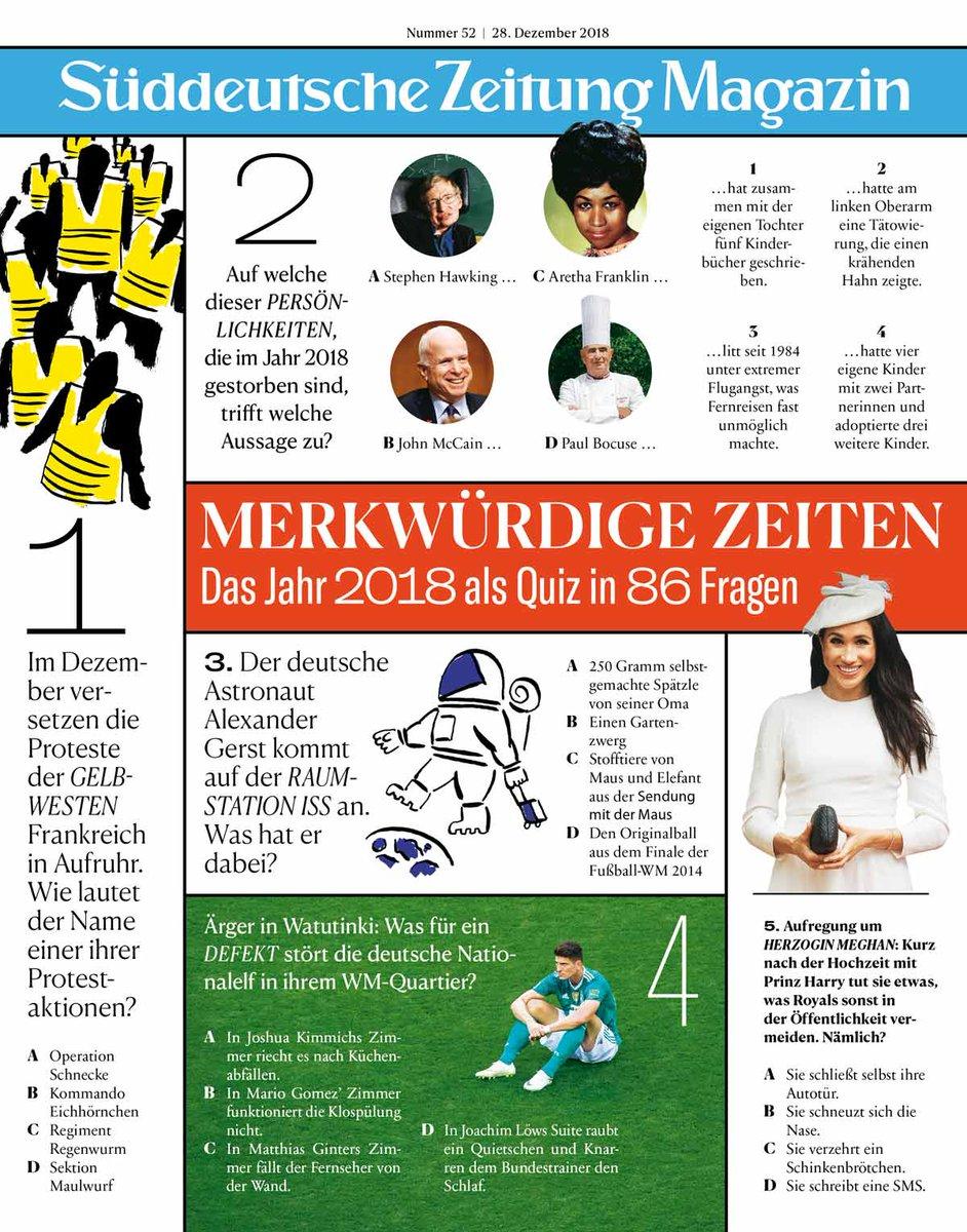 Sz Magazin On Twitter Das Neue Heft Unser Beliebtes