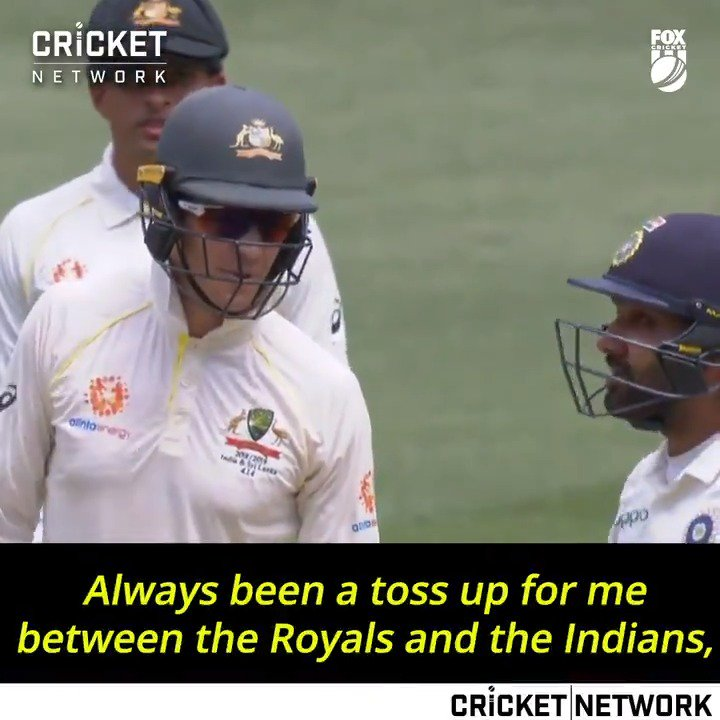 Cricket Com Au On Twitter Aaron Finch Discusses The Ipl Banter With Skipper Tim Paine When Rohit Sharma Was Out In The Middle Ausvind